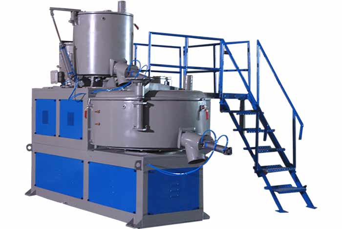 High Speed Heater Cooler Mixer Machine
